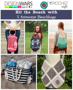 Awesome Crochet Patterns for Beach Bags - Perfect for Summer!