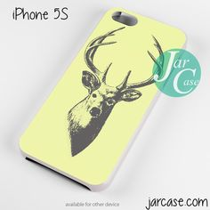 deer sketch Phone case for iPhone 4/4s/5/5c/5s/6/6 plus