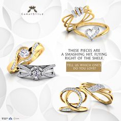 Your only chance to grab these Irresistible pieces! #rings selling like hot…