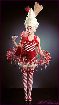 Bolli Darling Strawberry Cream Knickerbolliglory Costume. Photographer Andre Regini