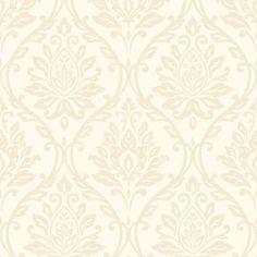 Fine Decor Athena Damask Wallpaper Beige - Fine Decor from I love wallpaper UK
