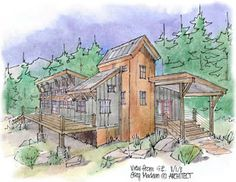 Colorado - Deep . Green . Architecture: Innovative architecture & building with staw bale wall construction by Greg Madeen - Environmental Architect