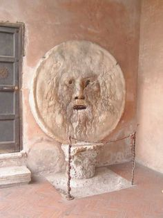 "Recreate the famous scene from ""Roman Holiday"" and stick your hand in the Mouth of Truth (La Bocca Della Verita) at the church of Santa Maria in Cosmedin. Make sure to see the church as well -- it's a lovely church dating from the 8th Century."