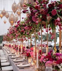 Gorgeous wedding centrepieces for your wedding day. How to decorate your wedding with elegant wedding centrepieces. Wedding Centerpieces, Wedding Table, Wedding Decorations, Table Decorations, Reception Table, Tall Centerpiece, Centrepieces, Centerpiece Ideas, Wedding Receptions