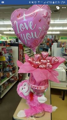 48 Elegant Dollar Tree Valentines Decoration Ideas Like all holidays, Valentine's Day comes with more than its fair share of. Actually, I was thinking […] Valentines Decoration, Valentines Day Baskets, Valentines Day Gifts For Her, Valentine Day Crafts, Valentine Ideas For Her, Bouquet St Valentin, Saint Valentin Diy, Ideas San Valentin, Candy Bouquet