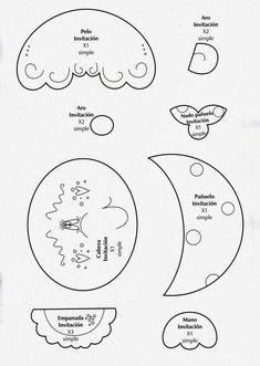 Revista de Goma Eva gratis - Revistas de manualidades Gratis Diagram, Bullet Journal, Mayo, Christmas Candle Holders, Clock Craft, Baby Girl Baptism, Step By Step Painting, Bedroom Frames, Creative Ideas