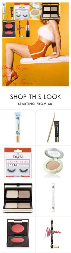 """Ginger Rogers Inspired Makeup Tutorial"" by oroartye-1 on Polyvore featuring beauty, Too Faced Cosmetics, tarte, eylure, Origins, Kevyn Aucoin, shu uemura, Laura Mercier and INIKA"