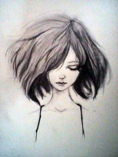 Beautiful face drawing