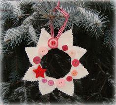 scrap wreaths