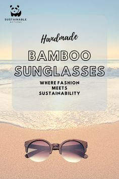 Sustainable Shades carries a variety of handmade bamboo sunglasses that are fashionable and better for the earth than plastic frames. Wearing our bamboo sunglasses will make you feel good inside and out. Sustainable Fashion, Feel Good, Sustainability, Mirrored Sunglasses, Bamboo, Frames, Earth, Plastic, Handmade