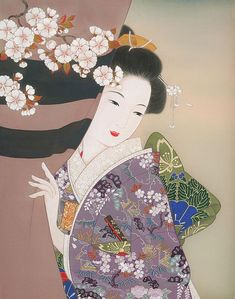 """Tukuda Kisho"" Modern Japanese painter, illustrator. 佃喜翔, 日本"