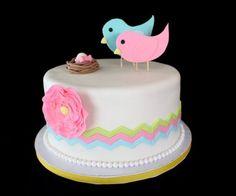 Nesting Birds Cake