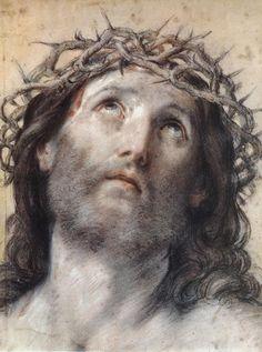 """""""Ecce Homo"""" by Guido Reni  Pinacoteca Nazionale, Bologna - Italy"""