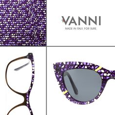 #VANNI Tangram - exclusive acetate block. www.vanniocchiali.com #VANNIeyewear #madeinitalyforsure