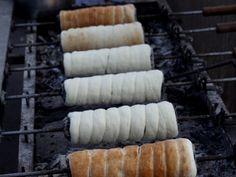 Kurtoskalacs recette gâteau roumain et hongrois à la broche. Excellent !