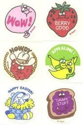 scratch 'n sniff stickers were my favorite thing ever
