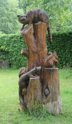 Wood Carvings of Scotland | Wood Carving