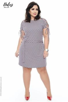 Ideas For Clothes Dresses Casual Plus Size Vestidos Plus Size, Plus Size Dresses, Plus Size Outfits, Curvy Women Fashion, Plus Size Fashion, Womens Fashion, Trendy Fashion, Dress Outfits, Casual Dresses