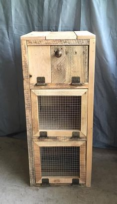 Vegetable Cabinet #WoodworkingProjects