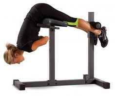 Roman Chair Hyperextension Bench - See more exercise machines at tonysfitness.com