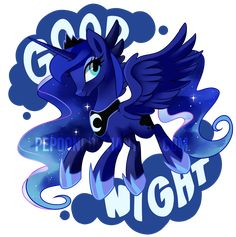 Princess of the night by pepooni Available as t-shirts, duvet covers at redbubble: http://www.redbubble.com/people/pepooni/works/13473478-princess-luna