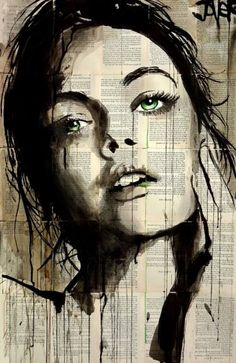 "Saatchi Art Artist Loui Jover; Drawing, ""something in the way..."" #art"