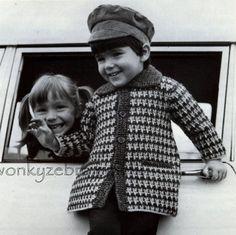 Capa patrón PDF Vintage B012 de ganchillo de por WonkyZebraBaby