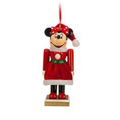 Disney Park Minnie Mouse Nutcracker Figurine Ornament N