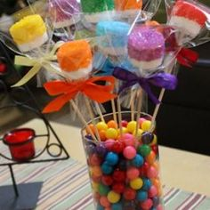 Candy Buffets and Chocolate Favors for all Occasions - Gift Baskets/Centerpieces Pony Party, Trolls Birthday Party, 1st Birthday Parties, Troll Party, Birthday Ideas, Candy Land Birthday Party Ideas, 8th Birthday, Anniversaire Candy Land, Candy Land Theme