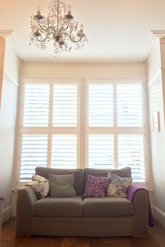 Tier-Tier-Sash,Large,Standard-White-LivingRoom-89mm-Silent | Plantation Shutters