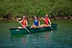 Sun Dolphin 14-foot canoe for 3 people -- need for country summer!