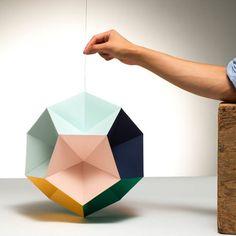 DIY Paper Sculpture - #paper #origami #craft