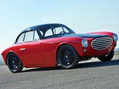 Tiny Perfection, 1953 Moretti 750 Gran Sport Berlinetta by Michelotti