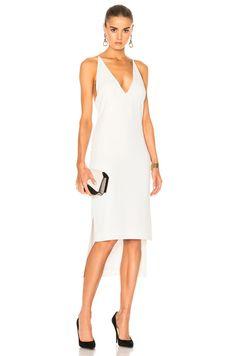 Dion Lee Whitewash Fine Line Dress - Bridal Shower @fwrd