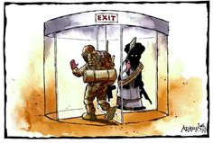 9 July 2014 - British troops leave an area, and the terrorists move in. Troops, Cartoons, British, Cartoon, Animated Cartoons, Animated Cartoon Movies, Comic Books, England