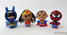 Kurlikins: Superhero Favorites!