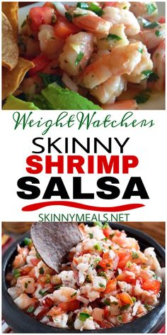 Ingredients: 16 oz cooked peeled shrimp, diced fine 4 vine ripe tomatoes, diced fine 6 tbsp red onion, finely diced ... #weightwatchers #shrimp #shrimprecipes #salsarecipe #weight_watchers #weight_loss Ww Recipes, Shrimp Recipes, Appetizer Recipes, Mexican Food Recipes, Cooking Recipes, Snacks Recipes, Waffle Recipes, Burger Recipes, Candy Recipes
