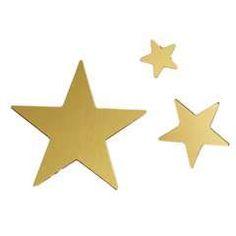 Panduro Hobby - Sequins mix stars gold 600 pcs