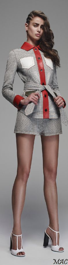 Resort 2016 Fendi women fashion outfit clothing style apparel @roressclothes closet ideas