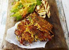 Jamie Olivers sprøde grønsags-pandekager | frokost