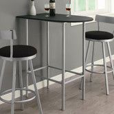 """Found it at Wayfair - Spacesaver Bar Table. This would be awesome for a staff """"break time"""" table in the classroom"""