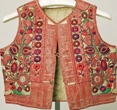 Vest Date: late 19th century Culture: Hungarian Medium: leather, wool