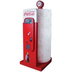 Coca-Cola Vending Machine: Kitchen Collectible Paper Towel Holder --- http://www.amazon.com/Coca-Cola-Vending-Machine-Kitchen-Collectible/dp/B0087PBYC8/ref=sr_1_10/?tag=affpicntip-20