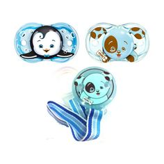 RazBaby Keep-It-Clean Pacifier and Holder Bundle Gift Set, Boy ($13) ❤ liked on Polyvore featuring baby stuff, baby, pacifiers and baby accessories