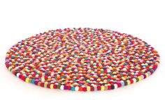 The Original' Harituti Felt Ball Rug - 100cm Harituti