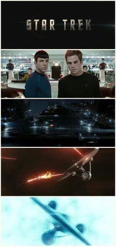 Star Trek (2009), The Enterprise.