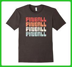 Mens Vintage Pinball Distressed Retro Arcade Gaming T-shirt Medium Asphalt - Retro shirts (*Amazon Partner-Link)