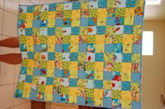 bug quilt for a friends baby boy. hand quilted By Donna Adams Conklin