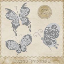 Butterfly Layered Templates 2 by Josy cudigitals.com cu commercial scrap scrapbook digital graphics#digitalscrapbooking #photoshop #digiscrap