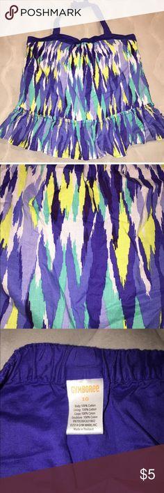 Gymboree halter top size 10 girls Gymboree girls halter top size 10 multi color Sparkle Safari line Gymboree Shirts & Tops Blouses